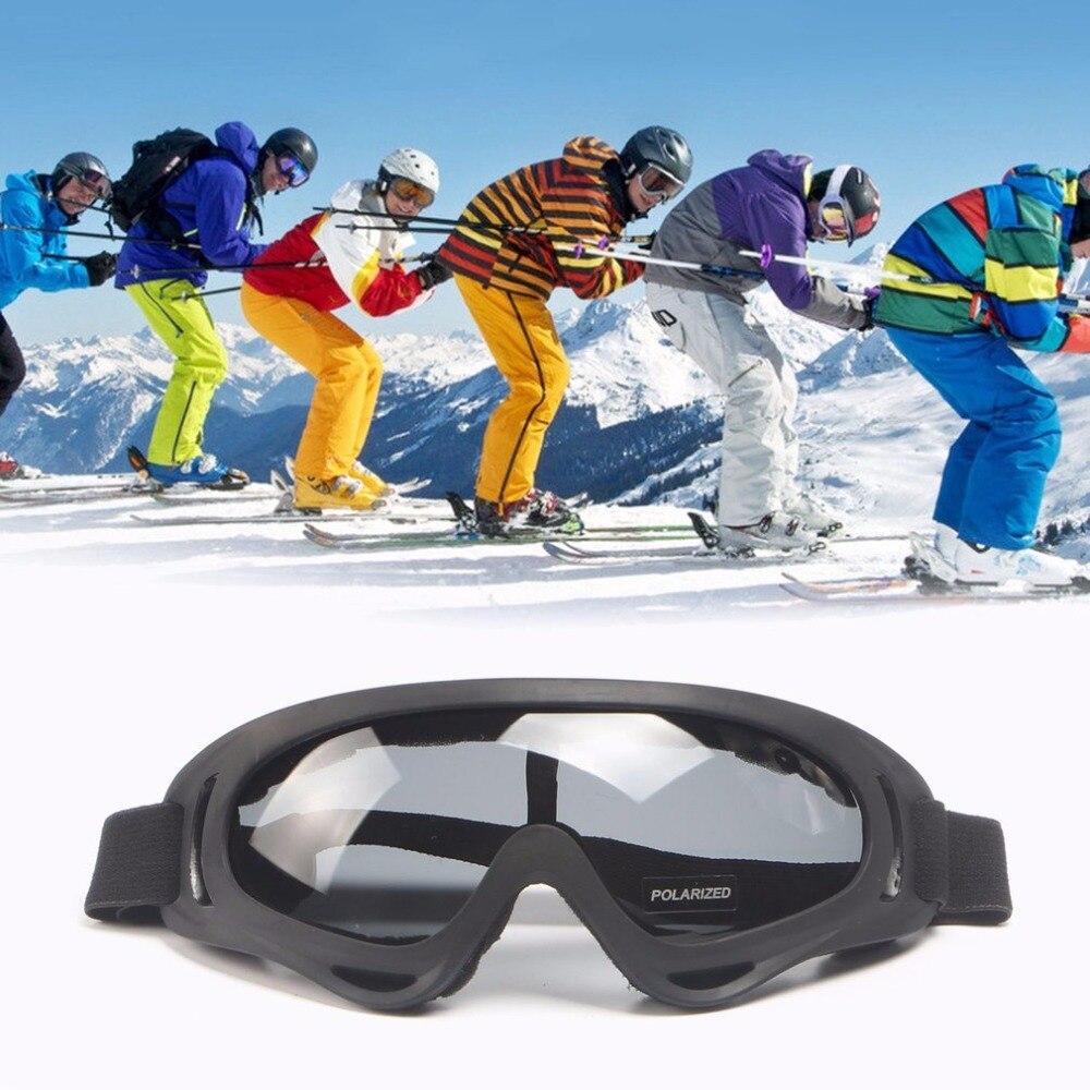 Ветрозащитный Анти-туман тактическая Очки очки поляризованные Открытый Очки UV400 защиты для внедорожной езды Лыжный Спорт