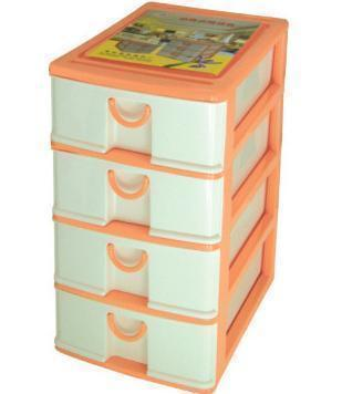 Multi Colored Medium Drawer Storage Cabinet Plastic File Cabinet A4 Drawer  Cabinet