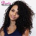 8А Maxglam Волос Бразильский Глубоко Вьющиеся Девственные Волосы Бразильской Глубокая Волна Бразильский Вьющиеся Девы Волос Weave 3 Связки Горячие
