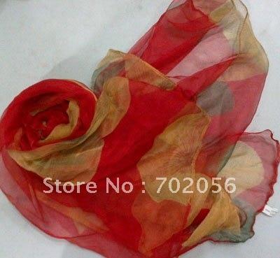 extra large silk   scarf     wrap   silk   scarves     scarf   shawl   wraps   shawls 180*105cm 10pc/lot #2078