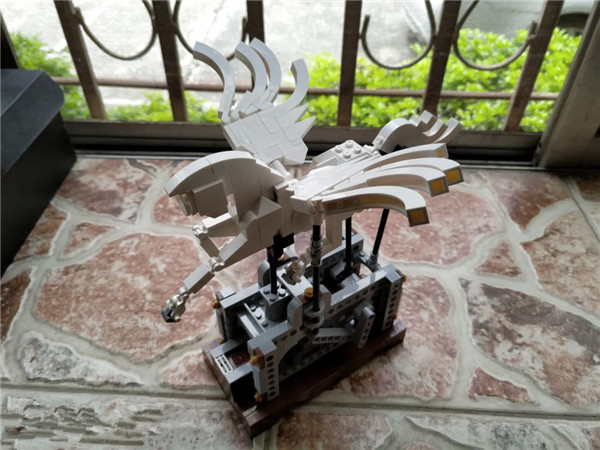 485Pcs Technic Series The Pegasus Automaton Mechanical Flying Horse Set Lepins Educational Building Blocks Bricks Toys Gift new lepin 23015 science and technology education toys 485pcs building blocks set classic pegasus toys children gifts