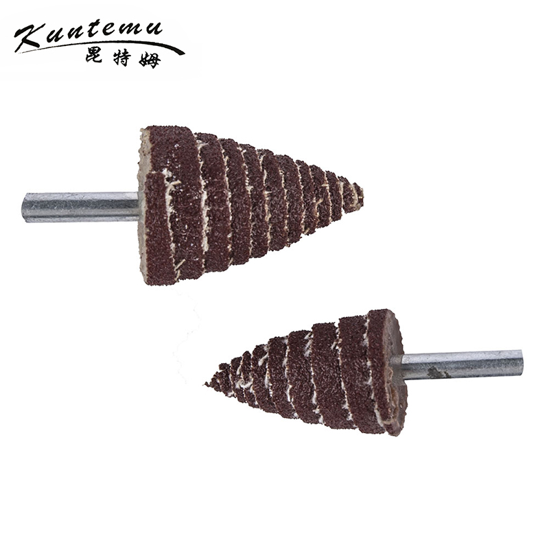 10PCS Cone Sandpaper Polishing Head For Metal Polishing