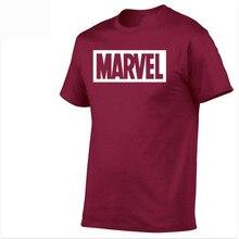 the best 2018 New Fashion MARVEL t-Shirt men cotton short sl