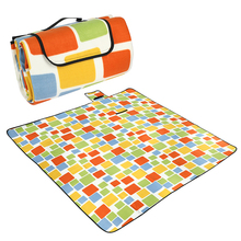 200x200CM Waterproof Folding Picnic Mat Outdoor Camping Beach Moisture-proof Blanket Portable Travel BBQ