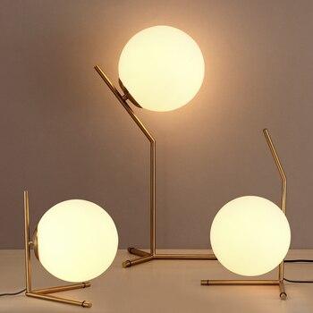 Modern LED Nordic table lamps bedroom bedside fixtures illumination Study room book desk lights living room decorative lighting