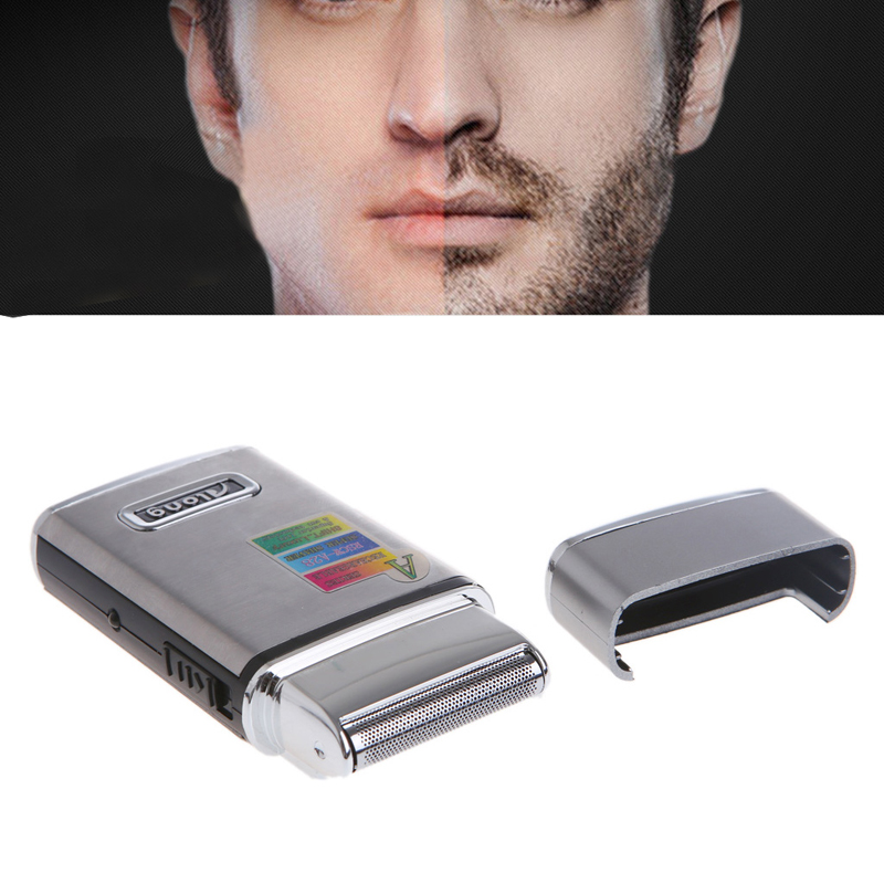 Stainless Steel Men's Electric Reciprocating Rechargeable Shaver Razor Face Body Shaver