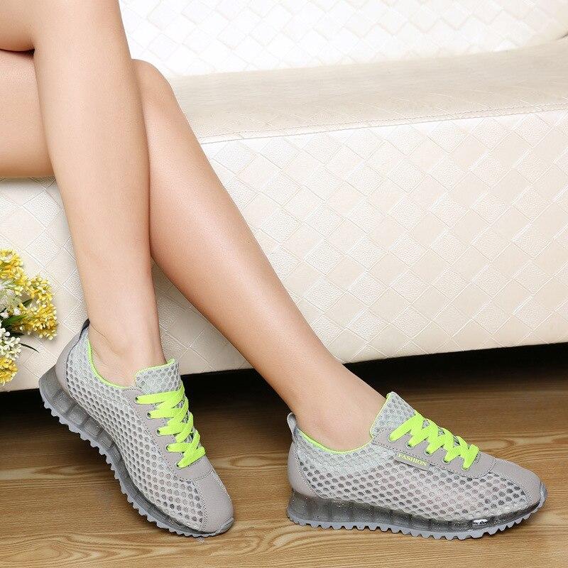 POADISFOO 2018 Summer Breathable Mesh Shoes Casual Shoes Forrest Gump Shoes Korean Flat Shoes Tide Mesh Shoes.LCH-4000
