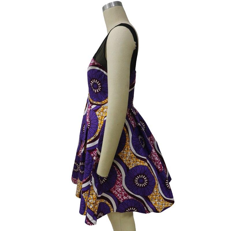 2017 neue Afrikanische frauen mode kleid, Ankara batik nähen hoher ...
