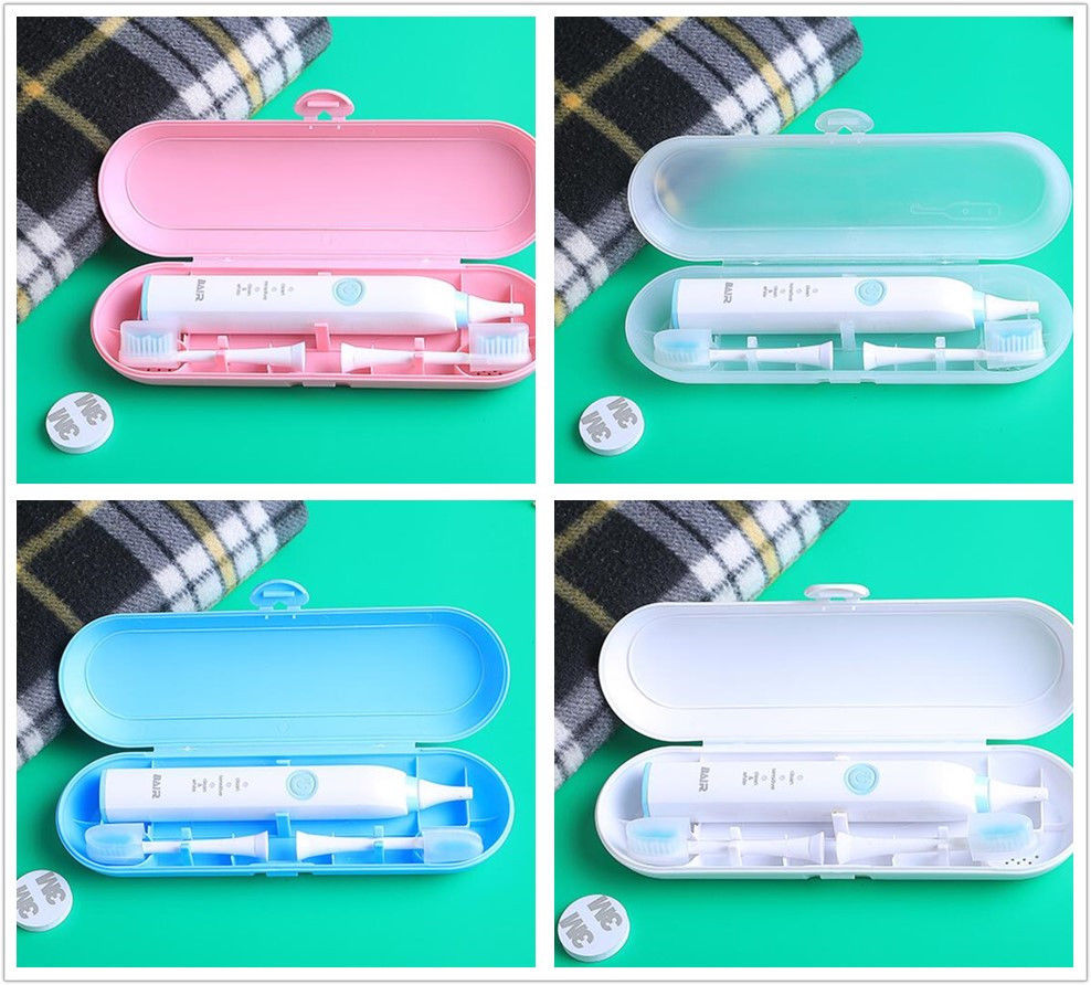 New Portable Electric Toothbrush Holder Travel Safe Case Box Outdoor Tooth Brush Camping Storage Case For Oral B Pink White Blue image