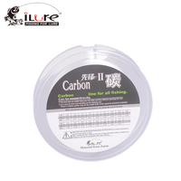 ILure New Fishing Fluoro Carbon Fishing Lines Carbon Fiber 100M Spool Super Strong Guide Transparent Fishing