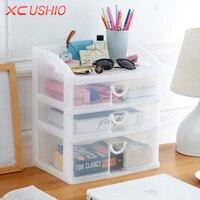 Multilayer Transparent Plastic Storage Box Drawer Box Organizer Cosmetic Jewelry Drawer Cabinet Kitchen Bathroom Storage Rack