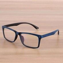 Reven очки мужчин и женщин унисекс деревянный узор в стиле ретро оптический спектакль очки кадр Урожай очки(China (Mainland))