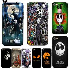 Yinuoda For iphone 7 6 X Case The Nightmare Before Christmas Cartoon Phone for iPhone 6S 8 Plus 5 5S SE XS XR