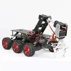 6WD plate forme de recherche et de sauvetage châssis de voiture intelligente choc escalade tout terrain pour Arduino Raspberry Pie WIFI système - 3