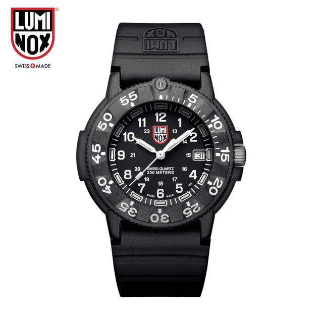 93ffbae4823 Luminox Relógio Feito na Suíça O mergulho dos homens série marinha selos  A.3001 XS