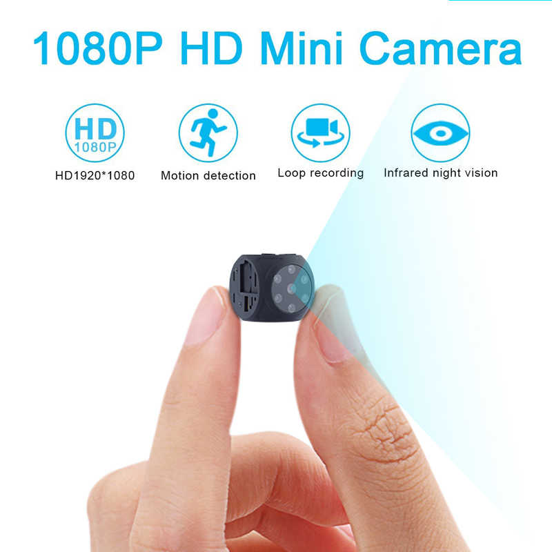 mini Camera small cam 1080P Sensor Night Vision Portable Security Camcorder DV video voice Motion Recorder Support Hidden TFcard