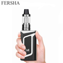 FERSHA 80W Superpower electronic cigarette kit Hookah vape mod 2000mAh battery 3.5ml e-cigarette atomizer 510 Vaoer quit smoking