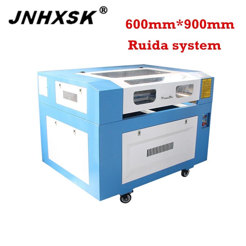 JNHXSK 6090/9060 Laser Engraver 80w RD Works 110v/220v Laser Engraving Cutting Machine CNC Router For Arcylic  Laser Cutter