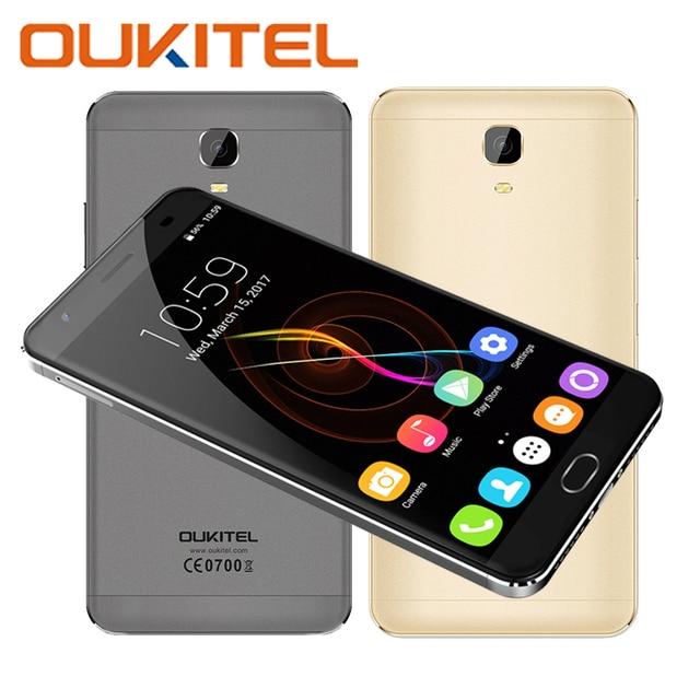 OUKITEL K6000 Plus Mobile Phones MTK6750T Octa Core 64G ROM 4G RAM Front Fingerprint Smartphone 6080mAh Android Cellphone 16 MP