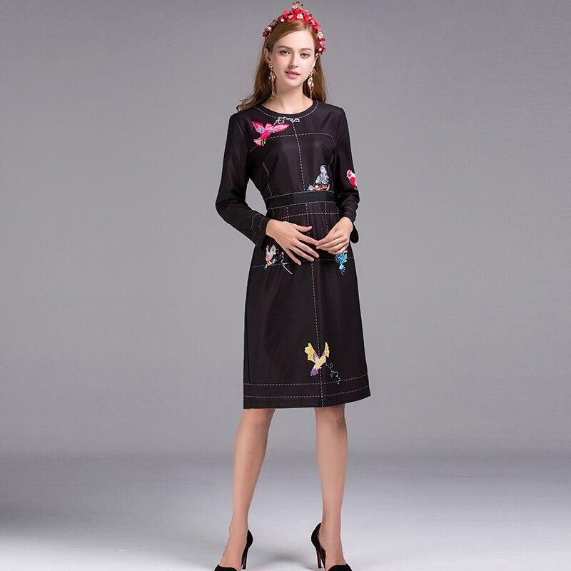 Yhdysvaltain halpa myynti uusi muotoilu Tarjouskoodi Black Dress 2016 Summer Gothic Brief Slim Long Sleeve ...
