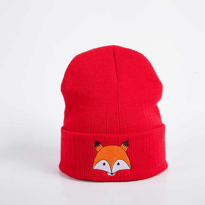Baby Children Cap Fox Warm Winter Newborn Infant Toddler Kids Girl&Boy Hats Knitted Wool Hemming Comfortable Touch Gift