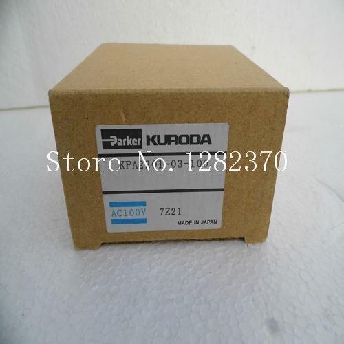[SA] new Japanese original authentic Parker solenoid valve KPA2201 03 100 spot