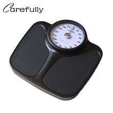 New 160kg Luxury Mechanical Scale Body Bathroom Weight Floor Human Spring Metal Steel Home Balance