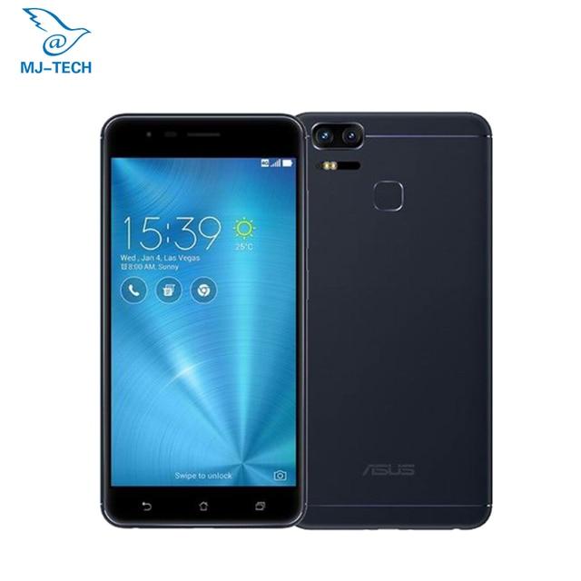 Глобальный ASUS ZenFone 3 зум ZE553KL 4G 64 5,5 дюймов 4G LTE смартфон Dual 12MP камеры Octa Core 5000 мАч умный телефон