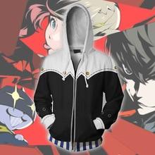 Persona 5 Cosplay Game Yusuke Kitagawa Anime Hoodie Costume Sweatshirt Jacket Coats