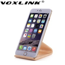 VOXLINK Wooden Phone Stand Mobile Holder for iPhone Samsung Sony IPad Tablet Samdi Universal Charging Dock Holder