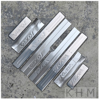 High Quality Stainless Steel Internal Scuff Plate Door Sill Car Styling For 2013 2015 Ford Kuga