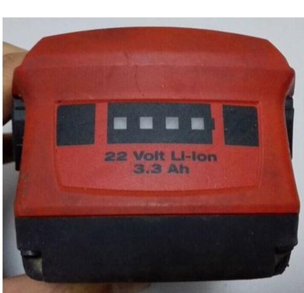 Pour batterie au lithium d'origine Hilti (produits d'occasion) TE2 TE4-A18 A22 SD4500 SFC SFH SID-18A 22A