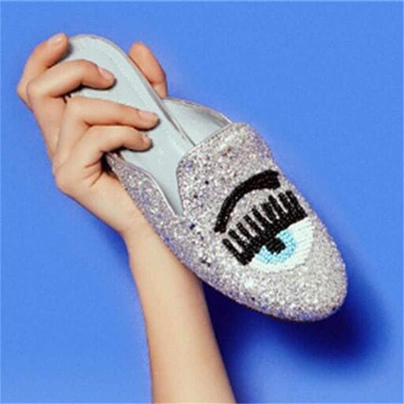 3cea7630e5 Detail Feedback Questions about Eyes Lips Women Casual Shoes Runway ...