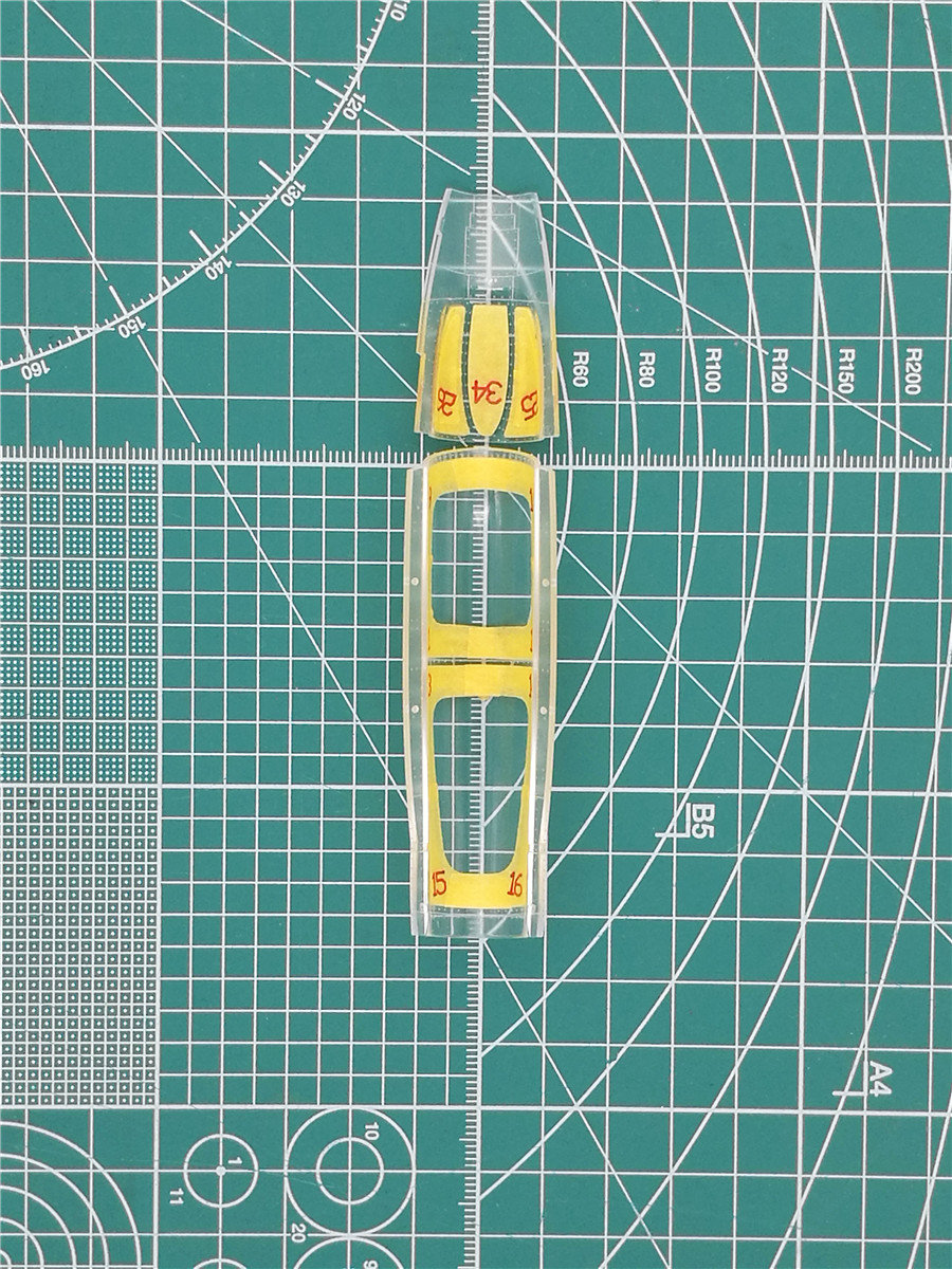 GALAXY MODEL D48004  1//48 F-14A Tomcat Die-cut Flexible Mask for Tamiya 61114