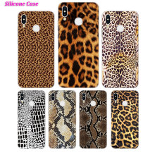 Silicone Case 2018 Leopard print for Huawei P Smart 2019 Plus P30 P20 P10 P9 P8 Lite Mate 20 10 Pro Lite Nova 3i Cover все цены