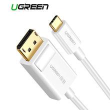 Ugreen usb c dp кабель 4k разрешение type к displayport адаптер