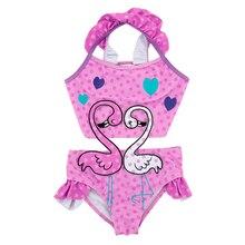 Детский слитный купальник для девочек, летний детский купальник в стиле пэчворк, От 1 до 6 лет для купания для младенцев