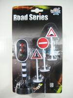 Can Light Scene Lighting Traffic Light Traffic Lights Turn Signal Lamp Toy Traffic Sign With Button