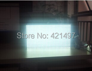 High Quality! P10 single color moudle semi-outdoor  white Color