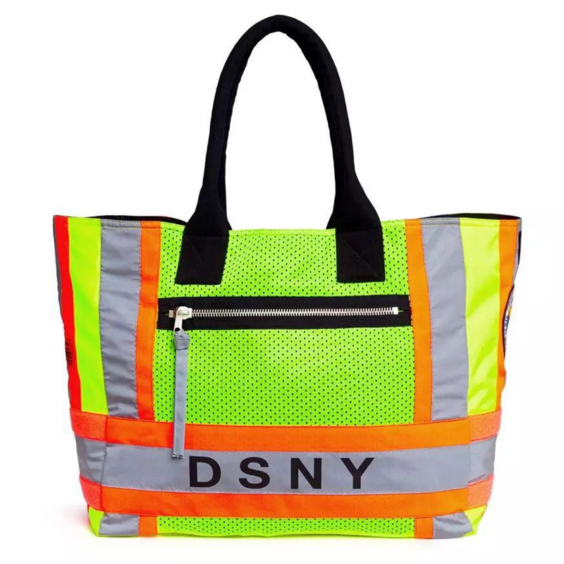 цена 18ss Heron Preston bags men women DSNY hip hop 3M Reflective Black kanye west streetwear canvas fear of god Green bum bags