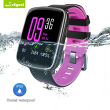 GV68 Smartwatch Heart Rate Monitor Wristband Smart Watch Waterproof IP68 Swimming Sports Tracker Wearable Devices Android iOS