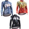 Compresión Camiseta para Las Mujeres Completo 3D Imprime Mangas Largas de Levantar el Peso Keep Fit MMA Entrenamiento Crossfit Gimnasio Cremallera Womens Tees