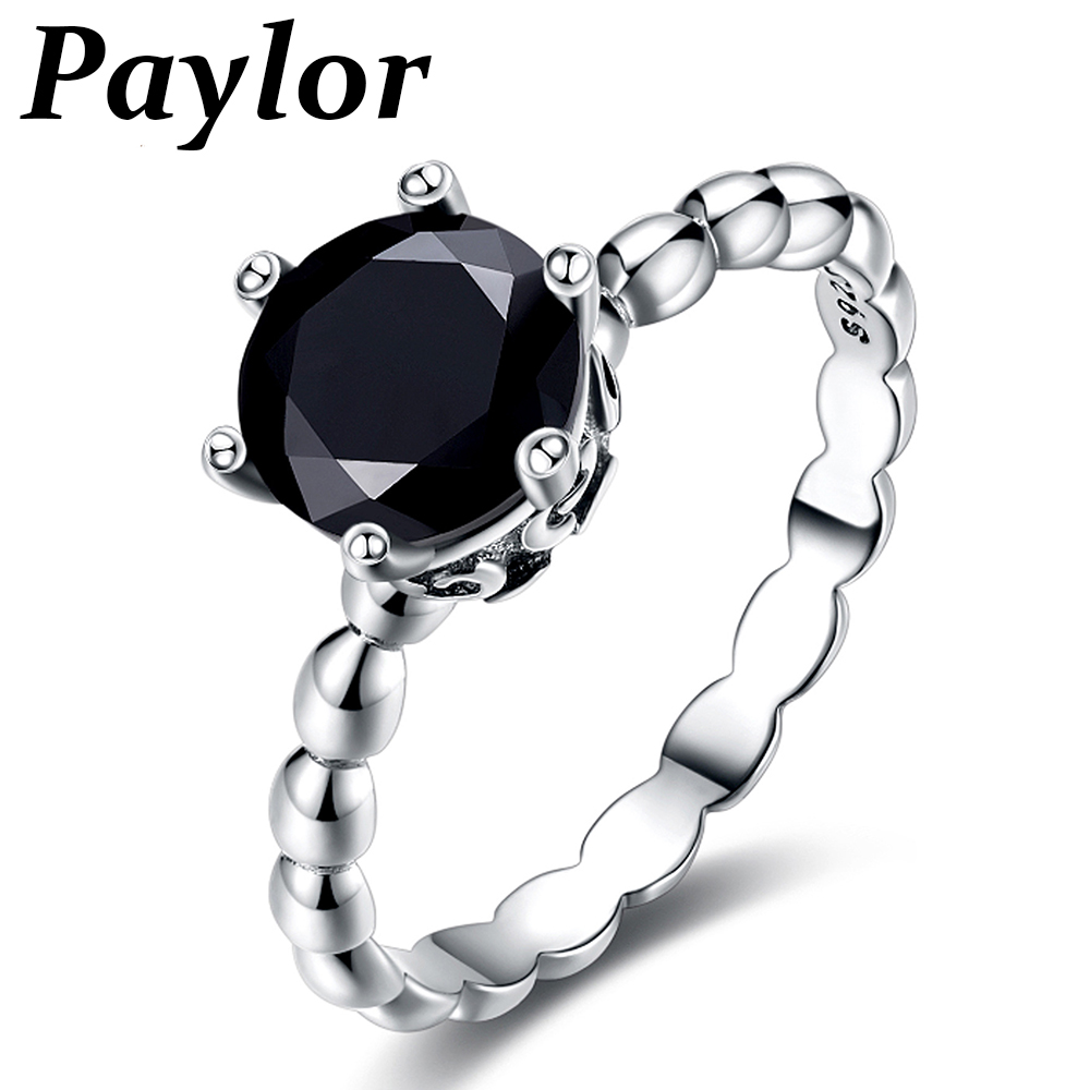 Hots Fashion Pandora Rings For Women Girl CZ Cubic Zircon Engagement Mickey Shape Finger Ring Valentine's Gifts Bague
