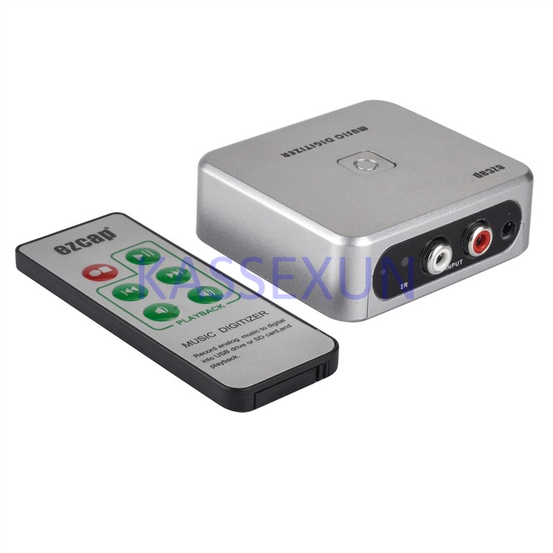 2017 new audio to mp3 capture card, convert old analog music to mp3 and save in to USB Drive or SD Card, Free shipping old and new terrorism