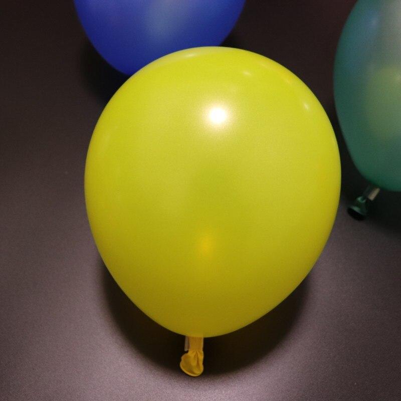 50pcs/lot 10inch 2.2g pearl yellow ballon child birthday balloons wedding party babyshower anniversaire