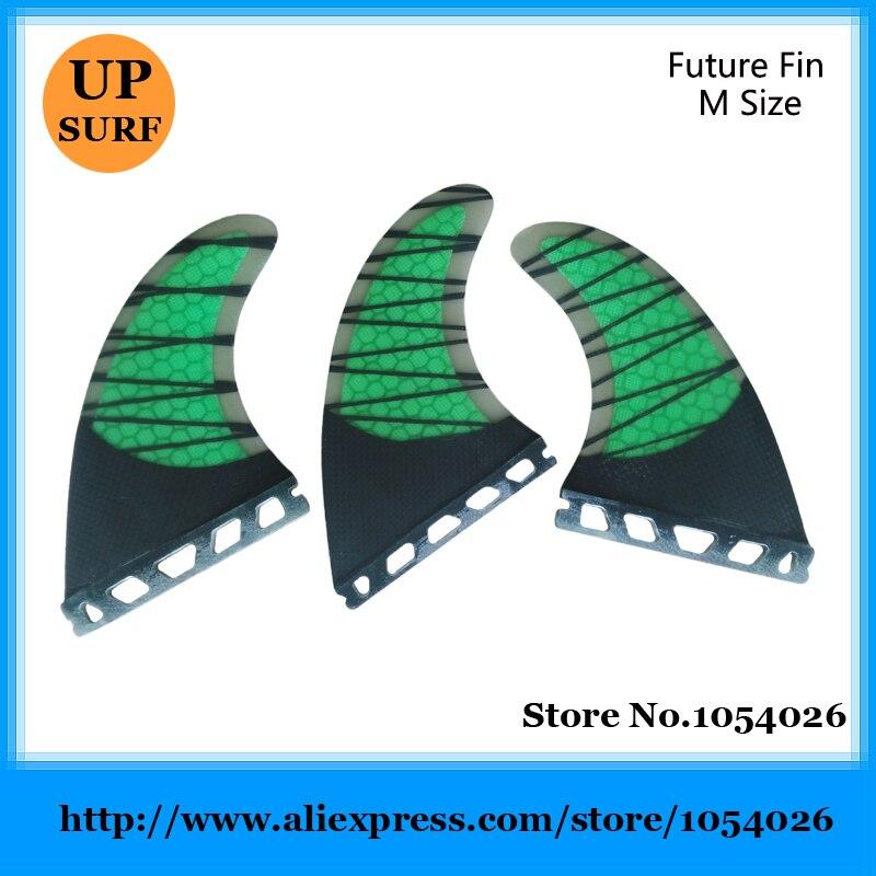 ④Surf futuro G5 aletas fibra del carbón de la aleta aletas envío ...