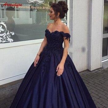 3d6193cd1 Azul Marino vestidos para la madre de la novia para la boda fiesta Plus  tamaño vestidos
