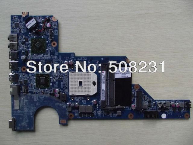 Envío gratis 649950-001 DA0R23MB6D0 REV : D para HP Pavilion G4 G6 placa base HD6470 / 1 g, 100% probado y buenas condiciones de trabajo