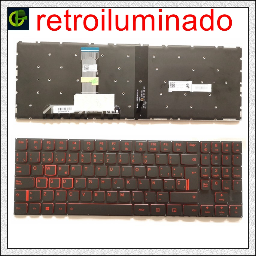 New Spanish Backlit Keyboard For Lenovo Legion Y520 Y520-15IKB Y720 Y720-15IKB R720 R720-15IKB 15 15IKB 9Z.NDKBN.D01 SP Latin LA
