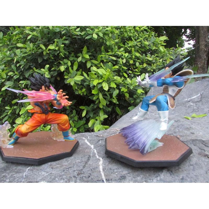 Buy Anime Dragon Ball Z Figuarts Zero Vegeta Gokou GALICK GUN PVC Action Figure Collectible Model Toy 15cm Fighting goku Decoration for $10.99 in AliExpress store